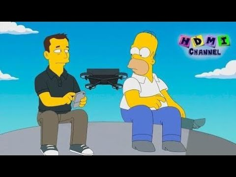 Симпсоны - ЛУЧШИЕ моменты! Илон Маск в Спрингфилде! HDMI 154