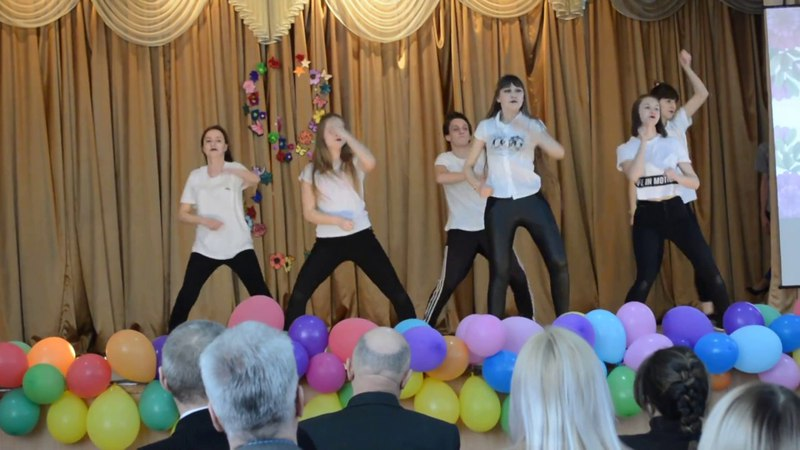 8 марта - Танец