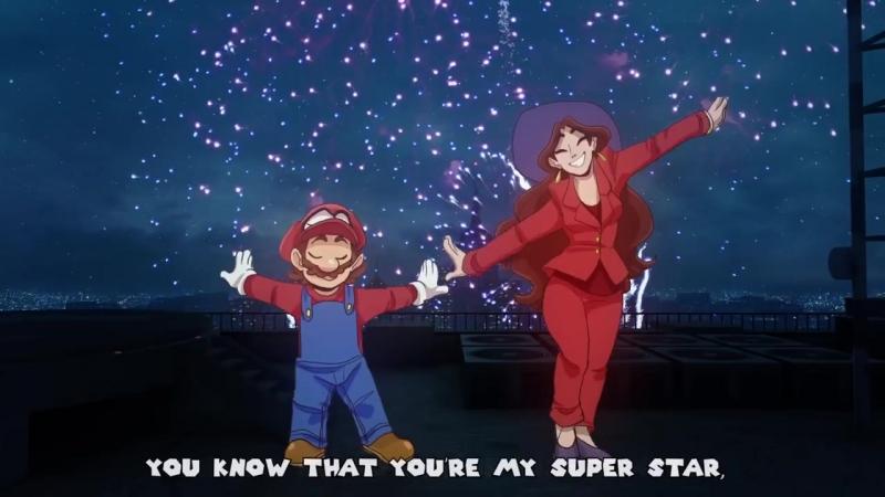 Jump Up, Super Star! Ремикс - Super Mario Odyssey - The Living Tombstone