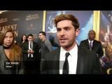 ET Canada - Hugh Jackman, Zac Efron and Zendaya attend the world premiere of The Greatest Showman