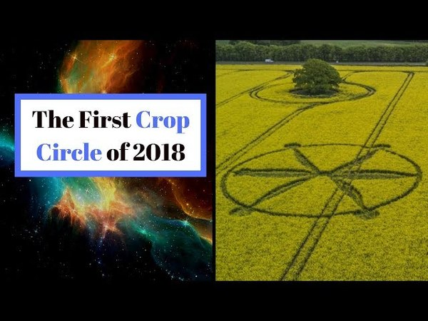 An Up Close Look at the First Reported Crop Circle of 2018!