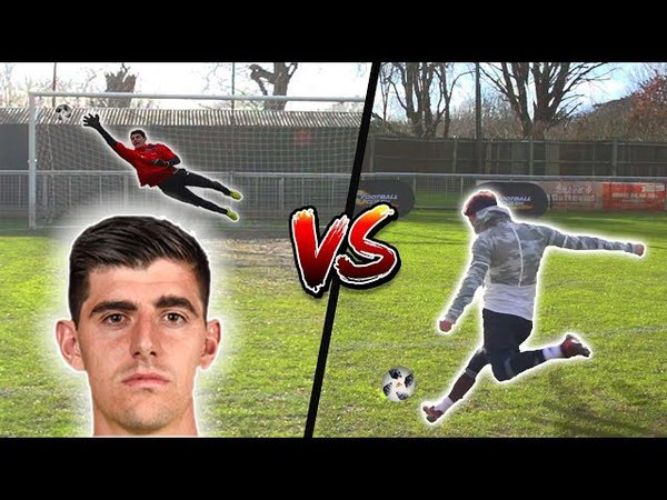 F2 SHOOTING VS COURTOIS 💥⚽️🥅