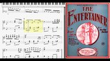 The Entertainer by Scott Joplin (1902, Ragtime piano)
