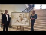 Портрет Анастасии Волочковой. Встреча у нее в доме.