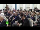 Владимир Путин вручает госнаграды внёсшим вклад в развитие страны