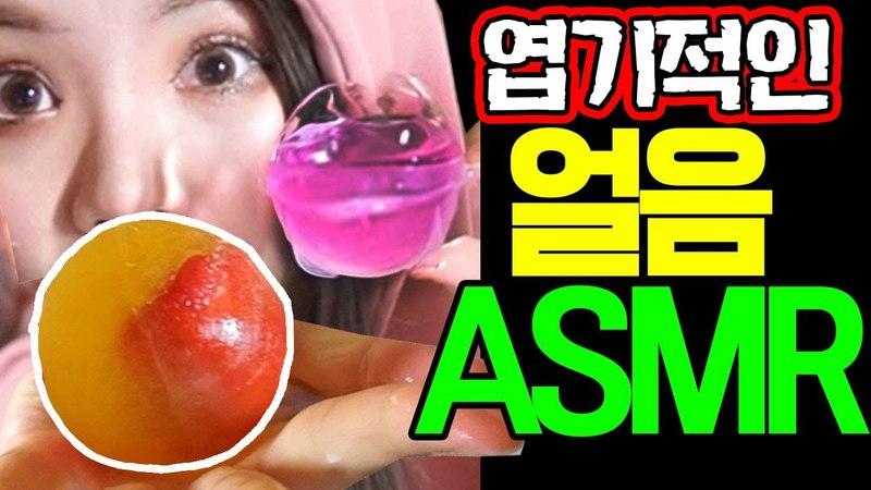 띠미의 ㅇl상한 병맛 ASMR 중국에서 유행하는 신기한 (망한) 얼음 이팅사운드 [Amazing Ice e