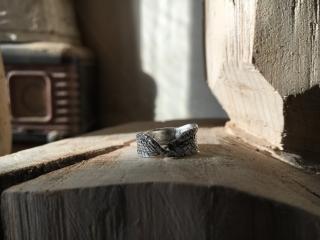Ювелирный мастер-класс по созданию серебряного колечка Петля