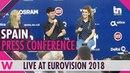 Spain Press Conference: Amaia y Alfred Tu Canción @ Eurovision 2018   wiwibloggs