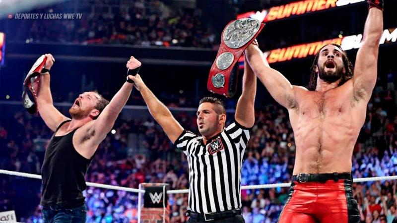 WH_Present Dean Ambrose Seth Rollins vs Sheamus Cesaro SummerSlam 2017