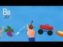 Развивающий мультик для детей - Алфавит - Все серии - Учим буквы А-И _ Азбука для малышей