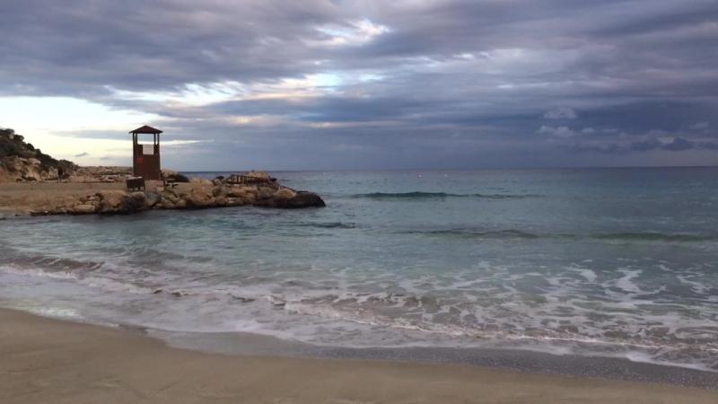 Красивый пляж 🌊 Протарас, Кипр