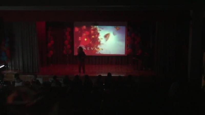 Выступление Ирины Тоневой (TONEVA) Последний звонок школа 1288