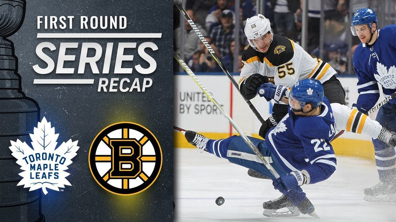 Bruins outduel Maple Leafs over seven games, advance to Second Round