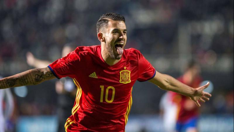 Хет-трик Дани Себальоса. Испания U-21 - Словакия U-21 4:1