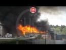 Видео из самого пекла. Склады полыхают на севере Москвы