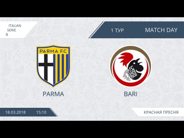 AFL18. Italy. Serie B. Day 1. Parma - Bari