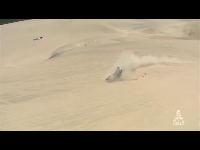 Авария Нани Ромы (3 этап Дакар 2018) Accident Nani Roma (Stage 3 Dakar 2018)