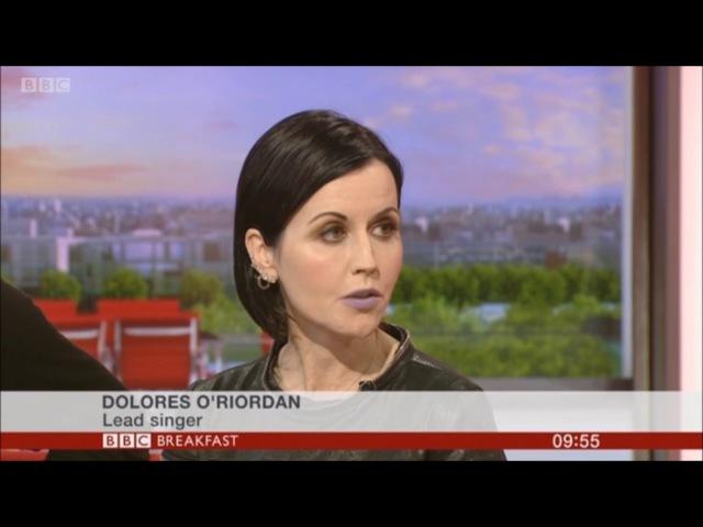 The Cranberries BBC Breakfast 2017