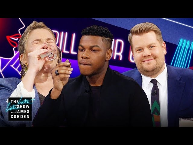 Spill Your Guts or Fill Your Guts w/ Drew Barrymore John Boyega