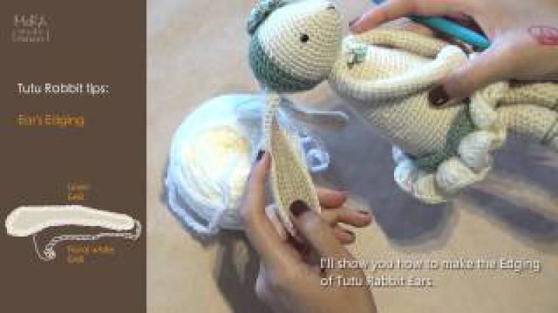 Tutu Rabbit tips: Ear's Edging
