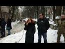 Репортаж під Лукьяновського СИЗО на підтримку Северіона Дангадзе