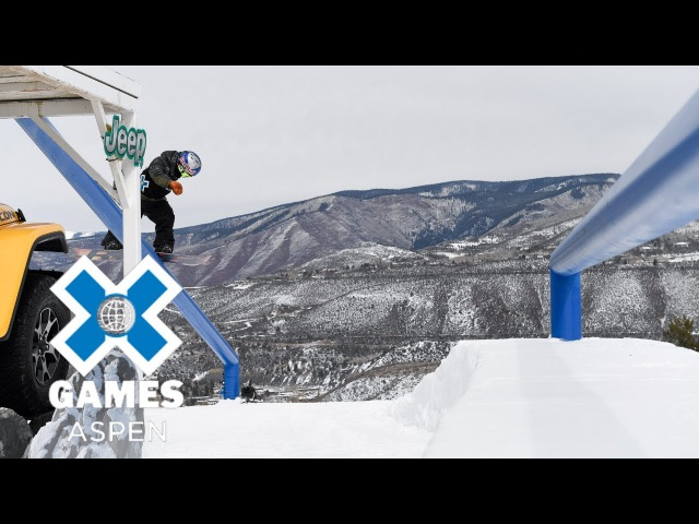Men's Snowboard Slopestyle X Games Aspen 2018