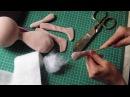 Текстильная кукла рост 32 см