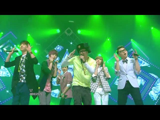 【TVPP】TEEN TOP - Baby U, 틴탑 - 베이비 유 @ Comeback Stage, Music Core Live