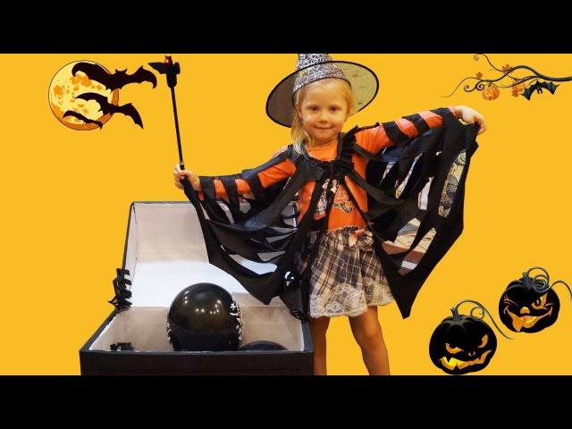 Хеллоуин Костюм маленькой ведьмы Волшебный Сундук Чудеса на хеллоуин