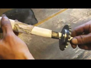 Amazing Homemade Inventions 2017-Knife Making Forging A Short Sword Out Of A File