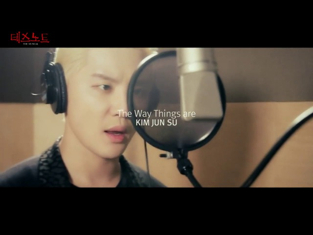 161220 Kim Junsu - 'The Way Things Are' Death Note