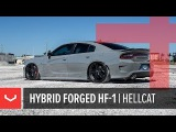 Vossen Hybrid Forged HF-1 Wheel Dodge Charger Hellcat Satin Black