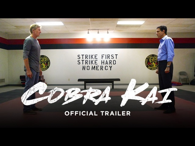 Cobra Kai / Кобра Кай (2018) Трейлер Kinowik