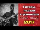 Tosin Abasi Animals As Leaders 2017 гитары усиление и педалборд