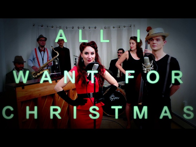 All I Want For Christmas (Mariah Carey) Jazz Cover by Robyn Adele Anderson feat. Von Smith