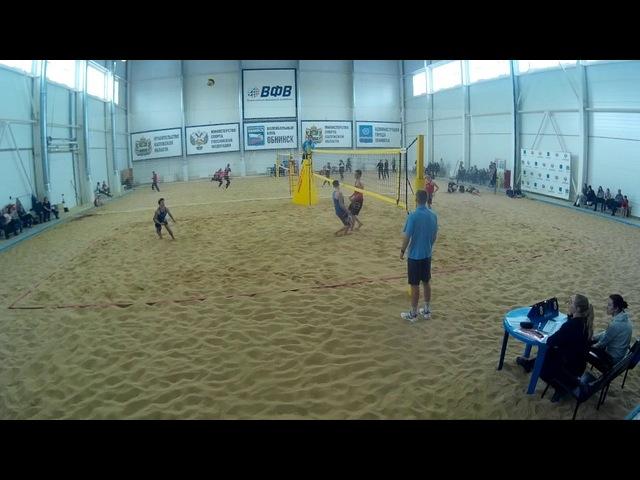Beach volley Cup U20 Russia 2018 M21 Gusev-Shustrov and Shekunov-Veretyuk
