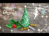 ABC TV | How To Make 3D Christmas Tree From Crepe Paper #3 - Craft Tutorial