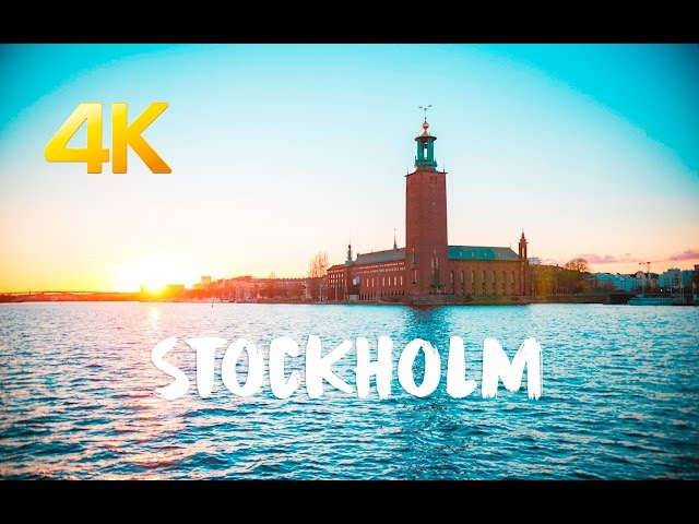 Stockholm in 4k City of the Viking 🇸🇪