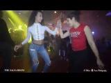 JEANNICE &amp NOELIA Sensual Bachata Social Dance At THE SALSA ROOM