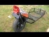 Motorcycle Trailer rear wheel suspension part 1