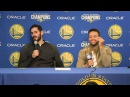 Omri Casspi responds to Oracle Arena MVP chants: 'KD, you're holding me back, bro'