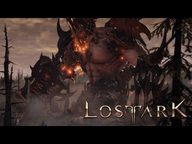 Lost Ark Online Massive Legion of Demons Siege Story Gameplay CBT2
