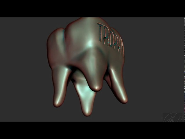 Tooth turntable