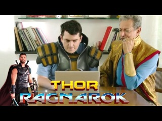 THOR RAGNAROK Grandmaster Moves To Earth EXTENDED - Team Darryl Short Film (2017) Jeff Goldblum HD