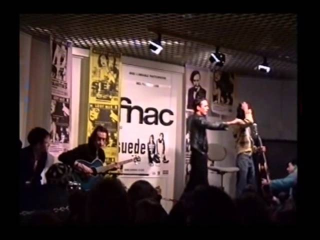 Suede - Live at FNAC, Paris, 1993