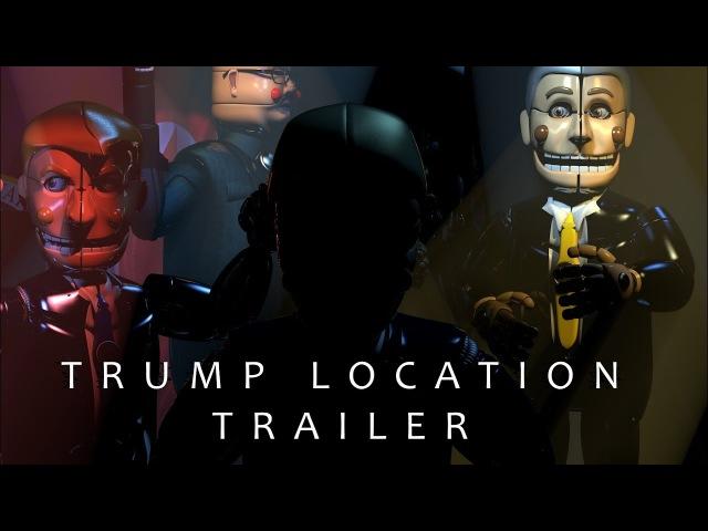 Trump Location Trailer