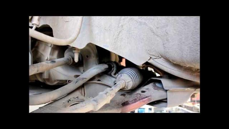 Замена втулок и стоек переднего стабилизатора KIA Sportage 2,0 Киа Спортейдж 2012 года