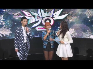131129 Hyorin (SISTAR) - Comeback Interview @ Music Bank [720P]