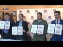 Глава ДНР принял участие в спецгашении почтовых марок посвященных 100 летию ДКР
