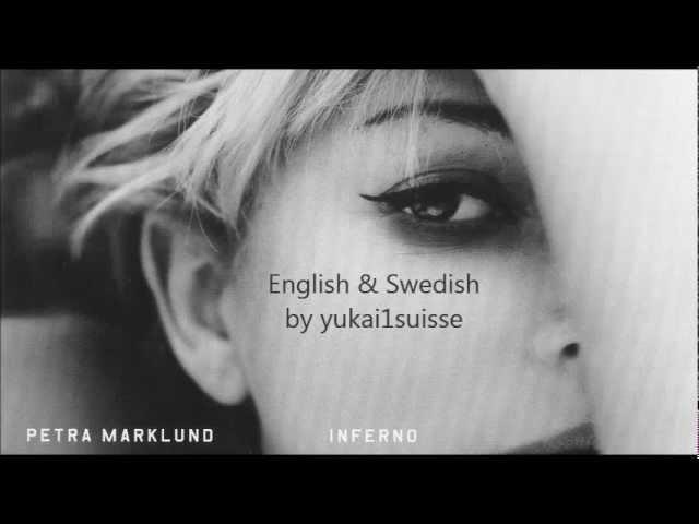Petra Marklund (AKA September) - Aska i Vinden (English Swedish lyrics)